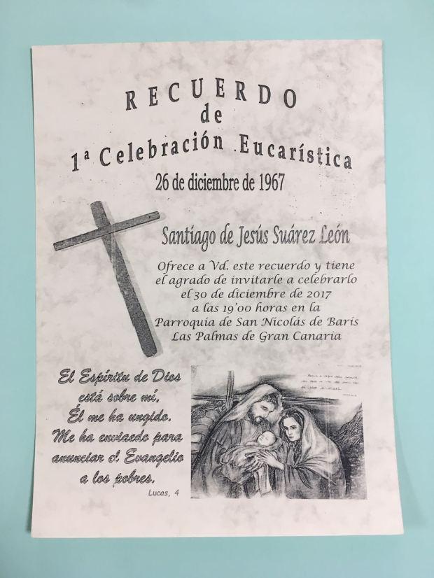 Primera Misa de Santiago